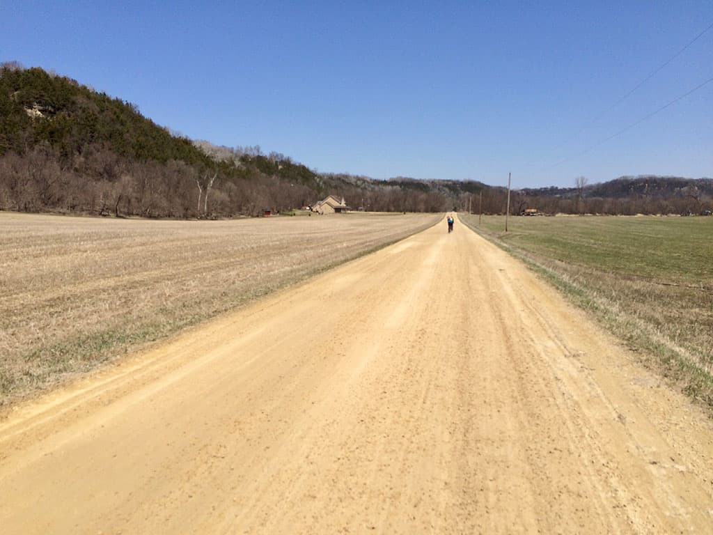 """Miesville 56 Gravel Grinder or """"Tractor's up!"""""""