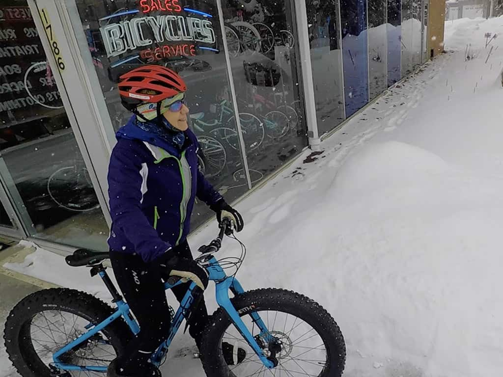 Long Lake Fat Biking - Gear West